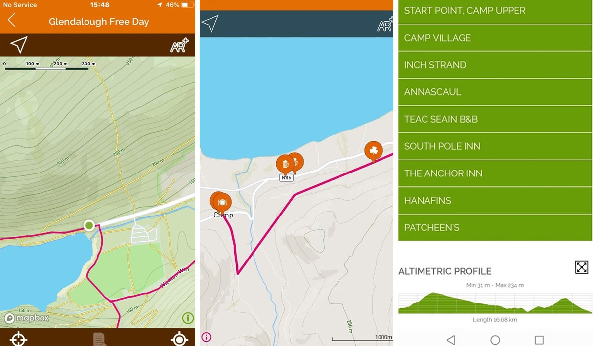 GPS Hiking App - GPS cycling app - Walking App Ireland